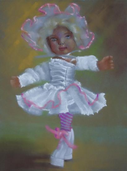 Autoportrait pastel gras 2002 07 24x30 3
